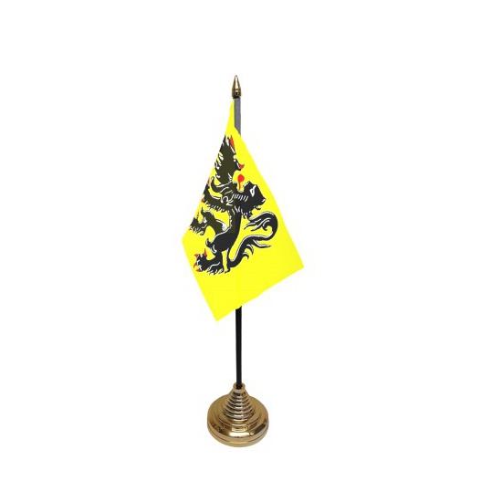 Vlaggen op standaard Vlaanderen