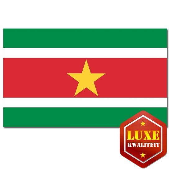 Vlaggen van Suriname 100x150 cm
