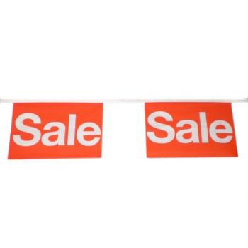Vlaggenlijn Sale 9 meter