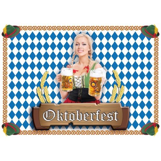Wegwerp placemats Oktoberfest 100 stuks