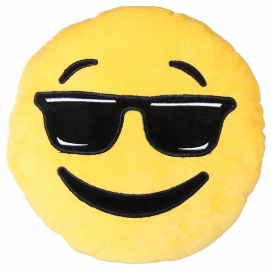 Zonnebril emoji kussentje 50 cm