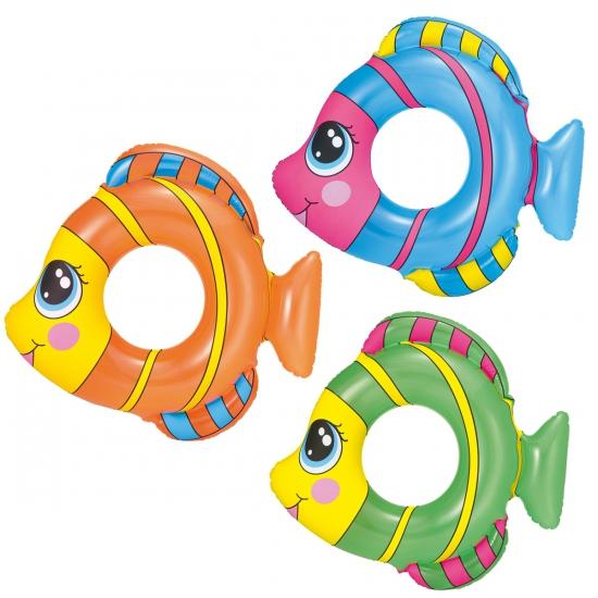 Zwemgordel vis gekleurd 81 x 76 cm