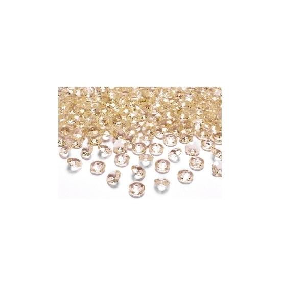 10 diamanten goud 2 cm