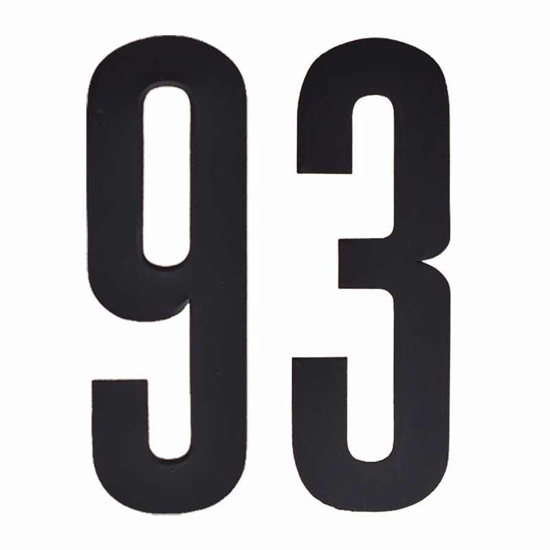 Cijfers / nummers stickers 93