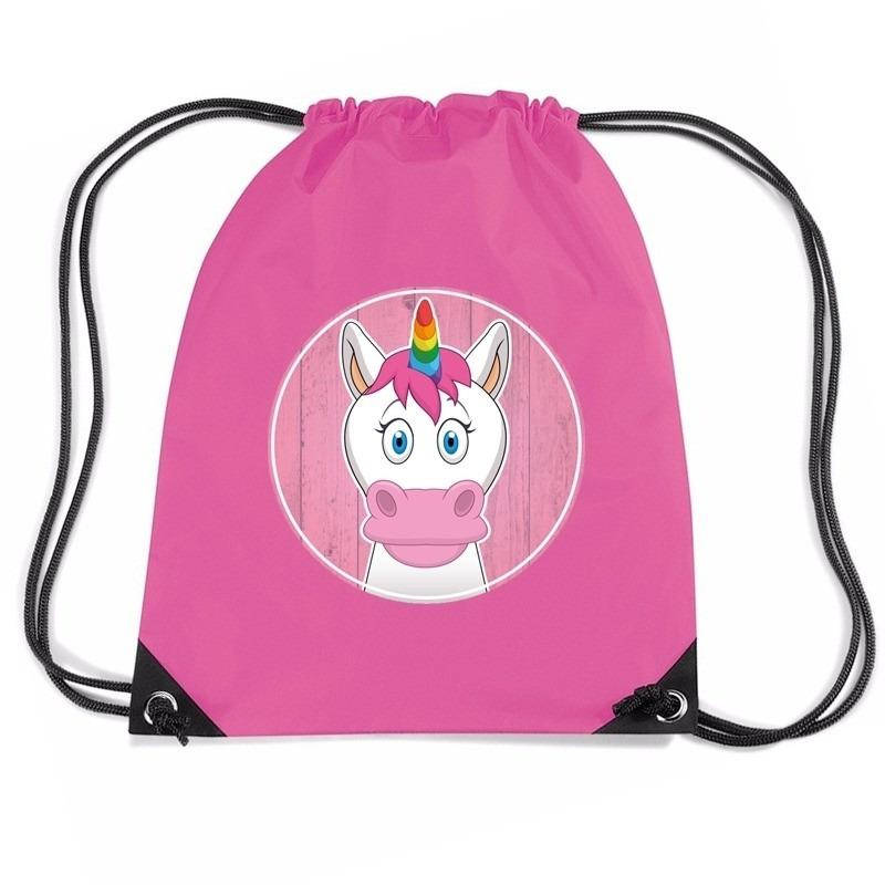 Eenhoorns rugtas / gymtas voor kinderen