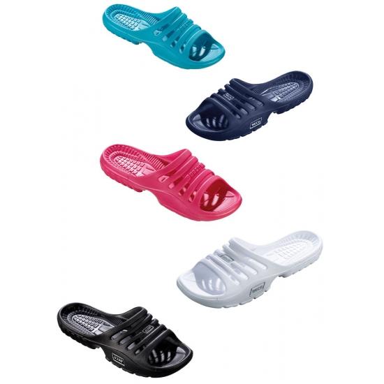 Gekleurde strand sandalen voor dames