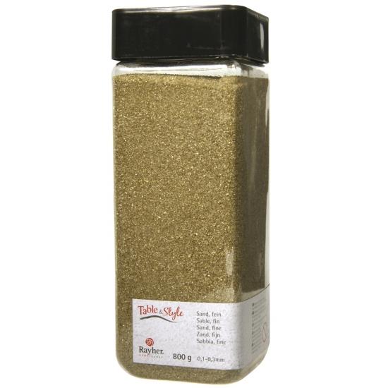 Gouden versiering fijn zand