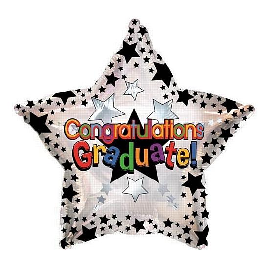Helium ballon Congratulations Graduate