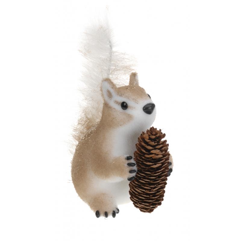 Herfst decoratie eekhoorn type 1