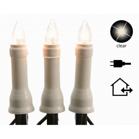 Kaarsen verlichting helder buiten 15 lampjes