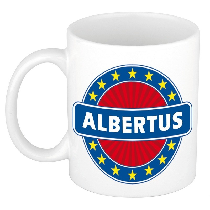 Kado mok voor Albertus