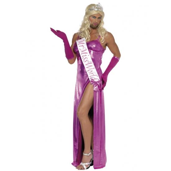 Miss world carnavalskleding heren