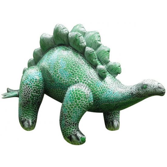 Opblaasbare levensechte Stegosaurus 117 cm