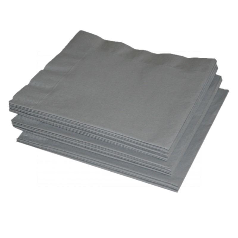 Oud en nieuw zilveren servetten 41 x 41 cm