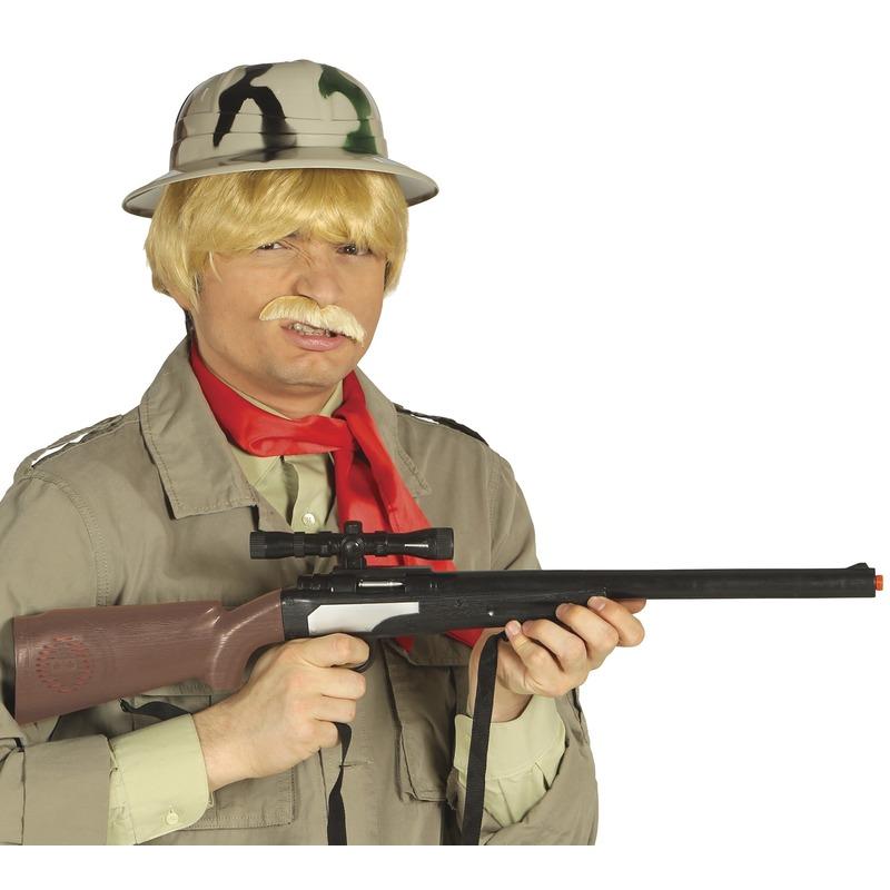 Plastic jachtgeweer 67 cm