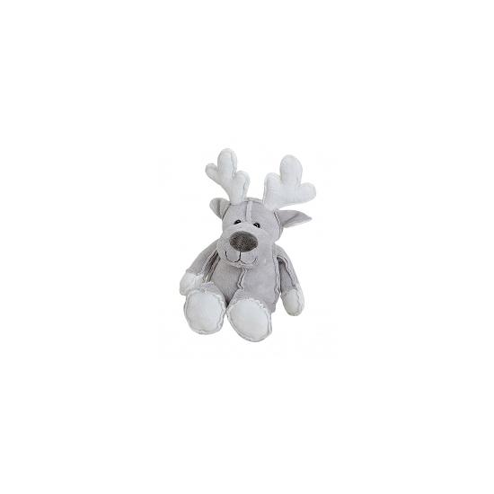 Dit rendier kerstknuffeltje is grijs van kleur en heeft geen harde onderdelen waardoor deze niet alleen ter ...
