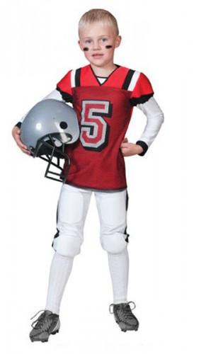 Rugby speler verkleedkleding voor kids
