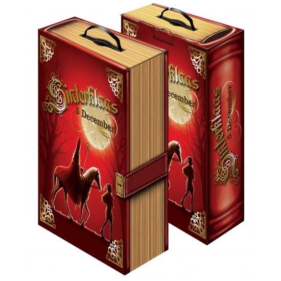 Sinterklaas decoratie boek van karton