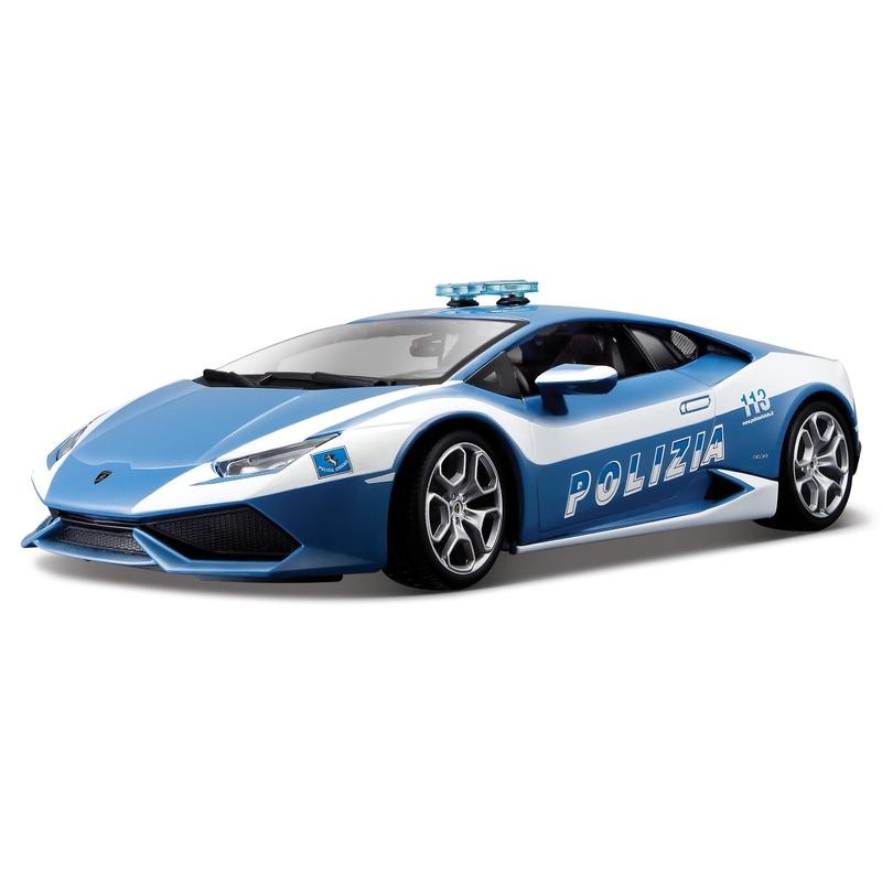 Speelgoed politie auto Lamborghini Huracan 1:43