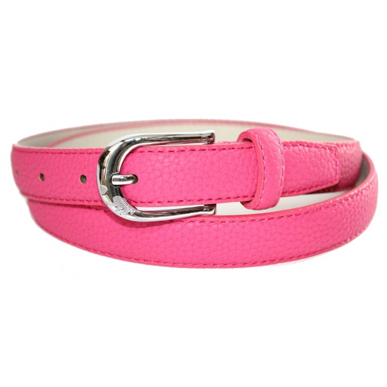 Verkleed riem roze 105 cm
