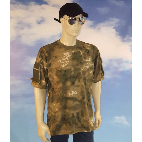 Vissers camouflage t-shirt
