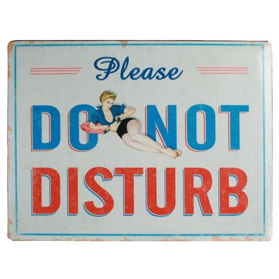 Wand decoratie Do Not Disturb