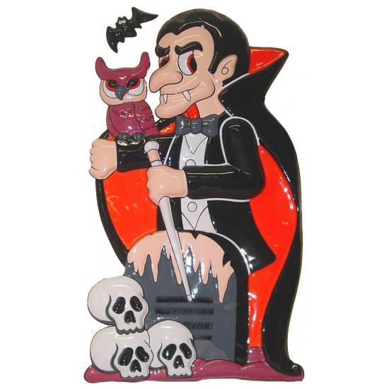 Wanddecoratie vampier en vleermuis