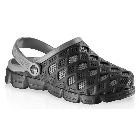 Zwem sandalen zwart/grijs voor heren
