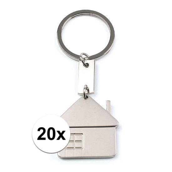 20x Makelaars kadootje sleutelhangers