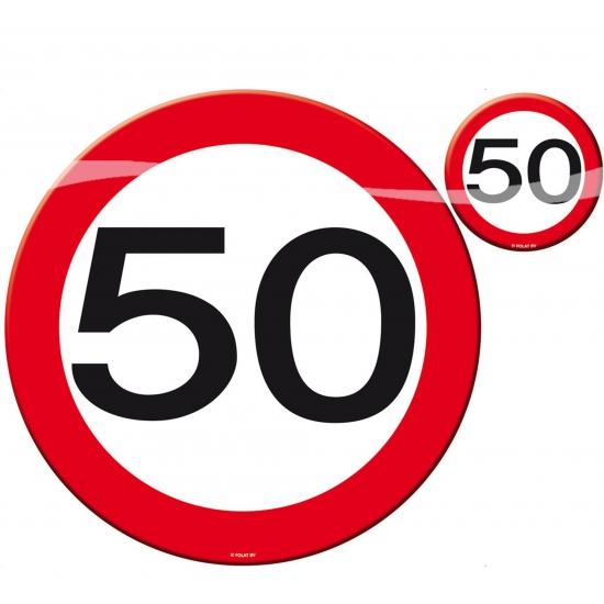 50 jaar verjaardag tafel decoratie