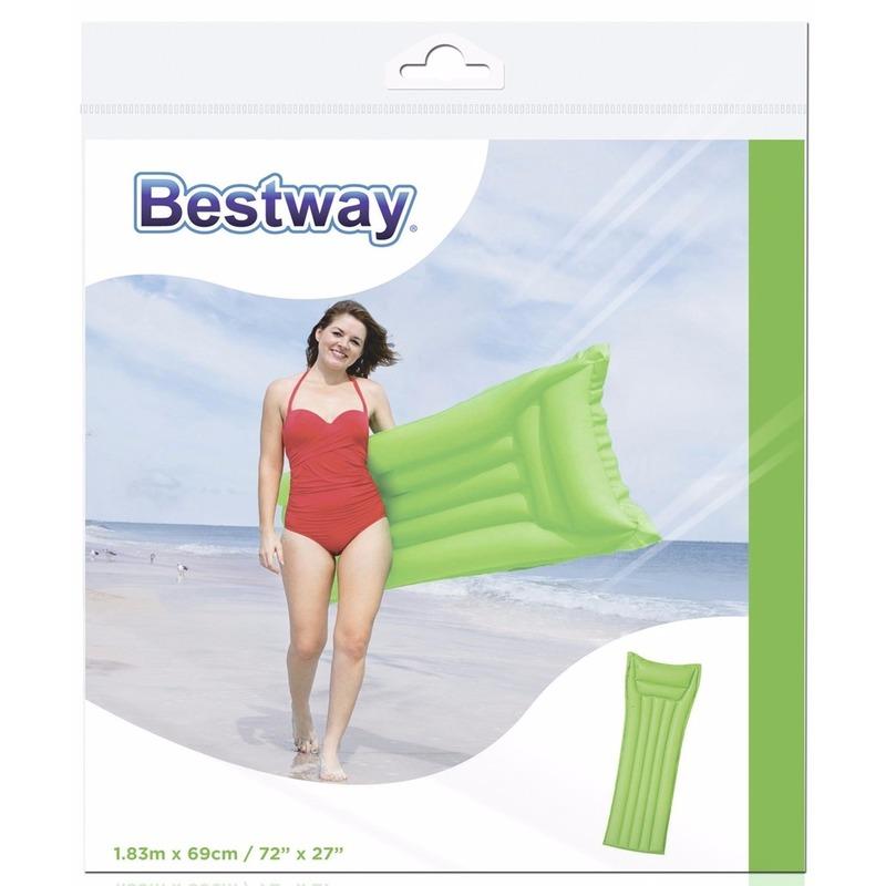 bestway groen luchtbed 183 cm