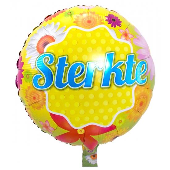 Beterschap wensen folie ballonnen