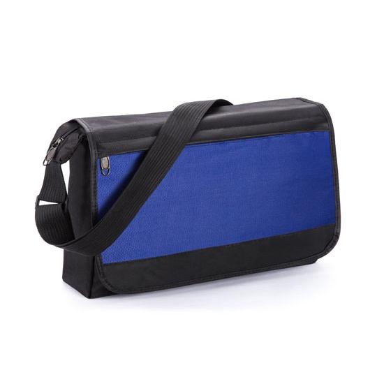 Blauw gekleurde schoudertas
