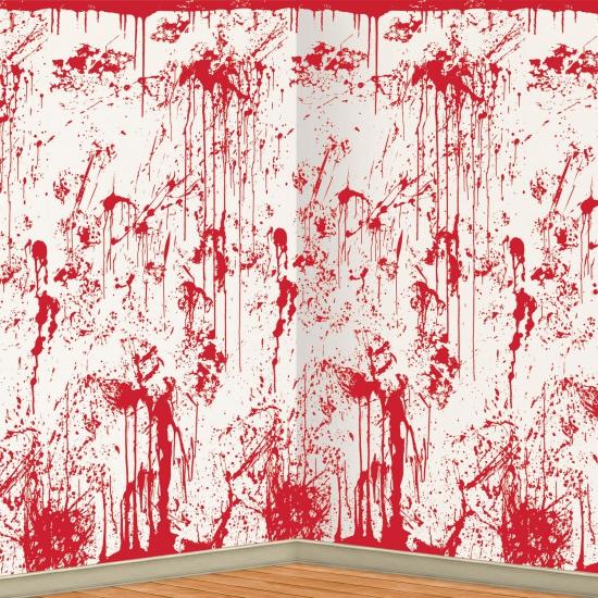 Bloederige horror scenesetter 121 x 914 cm