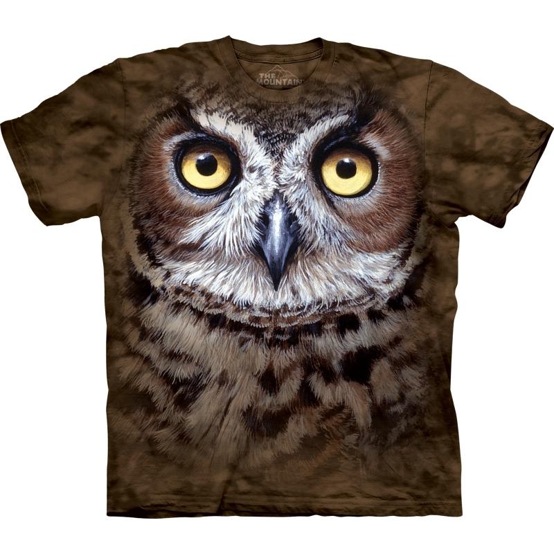 Brown bird Face shirt The Mountain