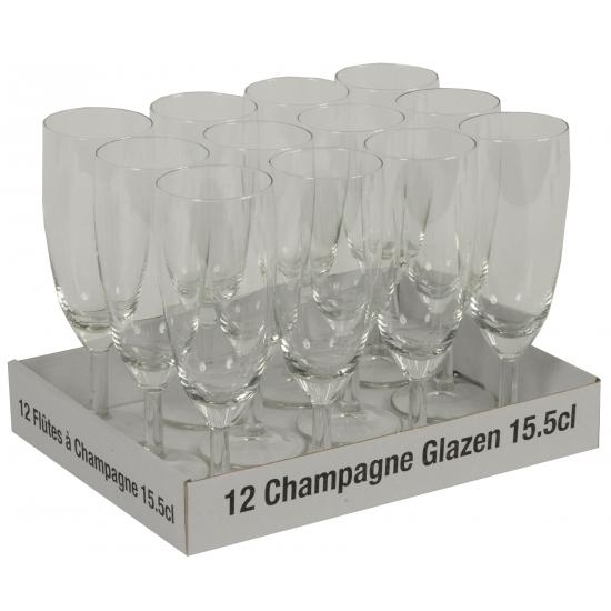 Bruiloft champagne glazen