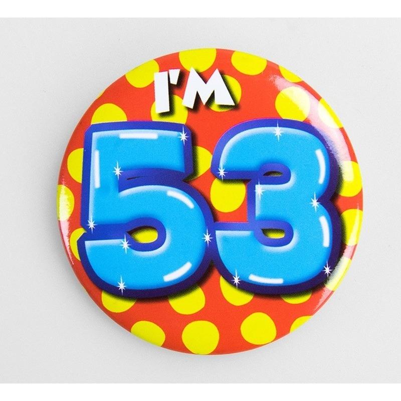 Buttons 53 jaar