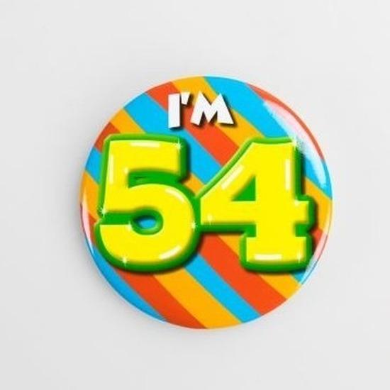 Buttons 54 jaar