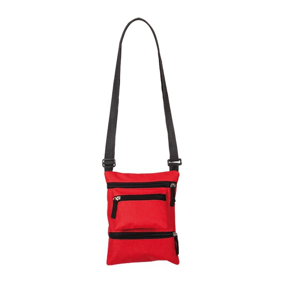 Camera schoudertasje rood