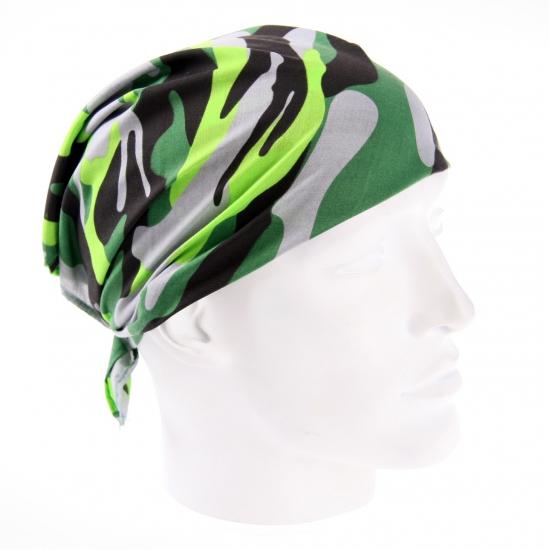 Camouflage hoofddoek 54 x 54 cm