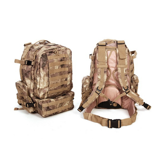 Camouflage rugzak Assault 60 liter