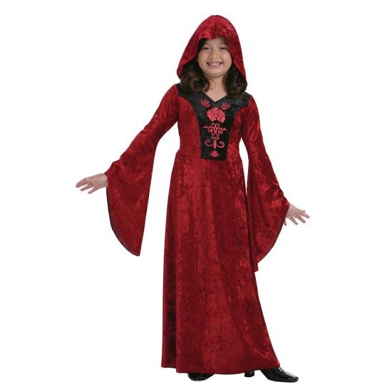 Carnavalsjurkje vampier voor meisjes