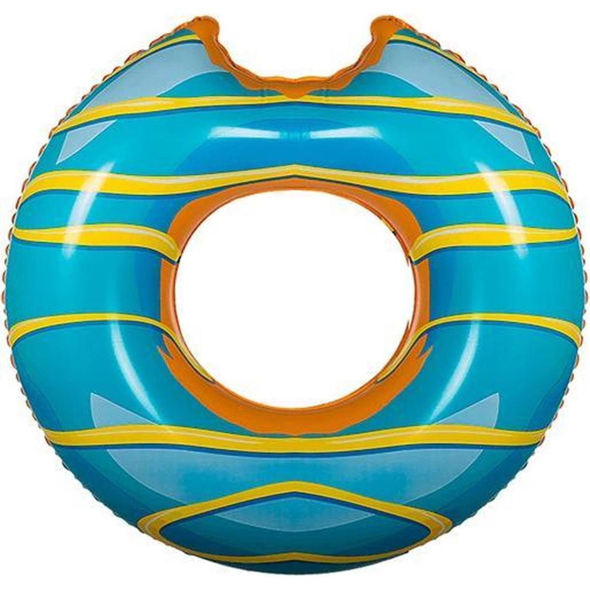 Donut zwemring blauw 119 cm