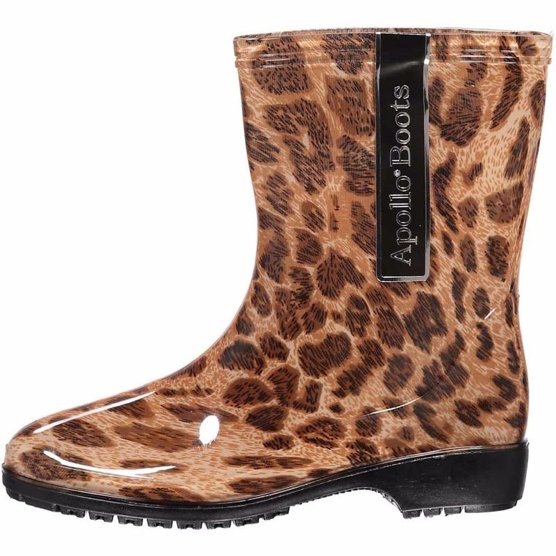 Festival laarzen met luipaard motief