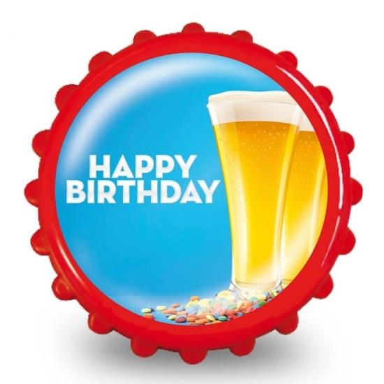 Frisdrank opener happy birthday