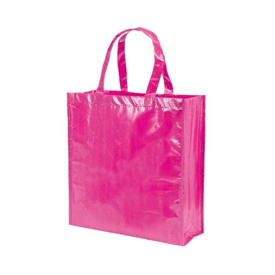 Glimmende roze tas non woven