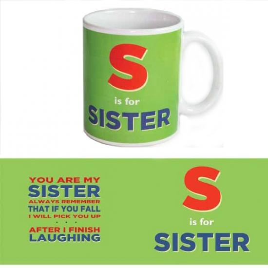 Grote beker voor zus