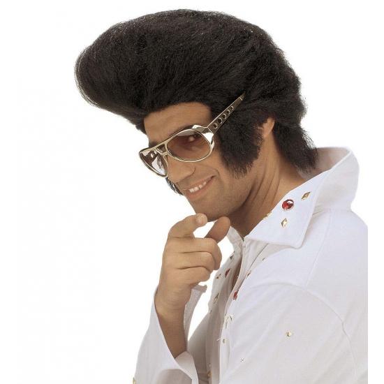 Grote Elvis pruik