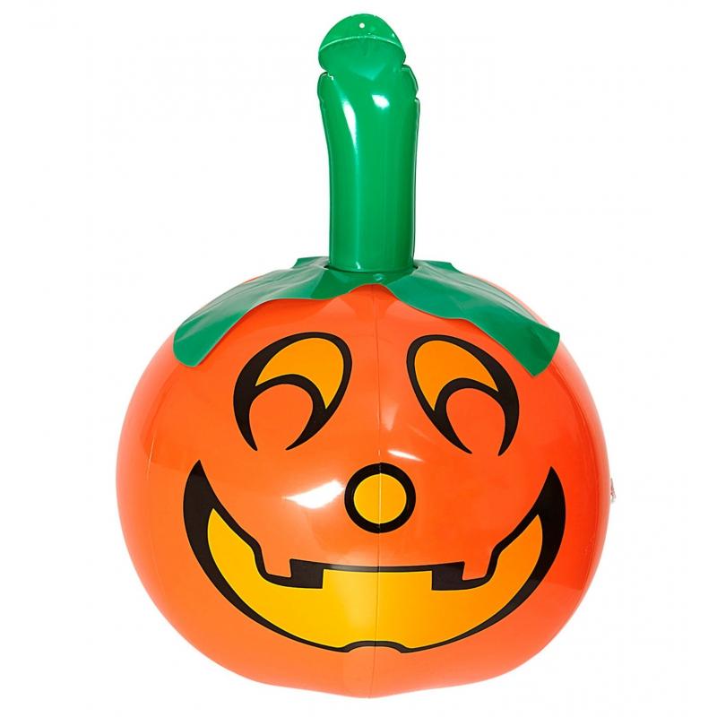 Halloween - Opblaas pompoen 46 cm