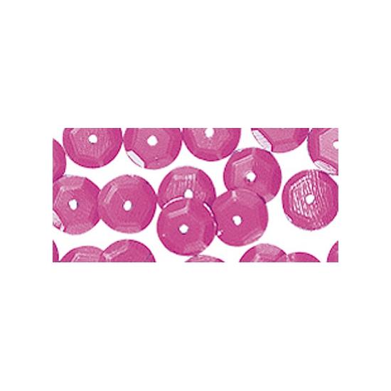 Hobby pailletten roze 6 mm